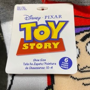 Accessories - Toy Story and Monster Inc. socks